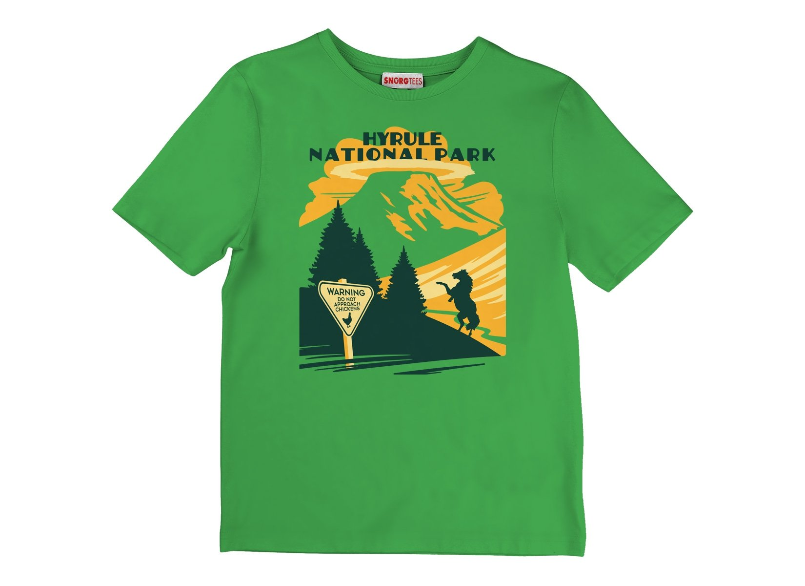 Hyrule Field on Kids T-Shirt