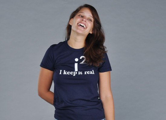 I Keep It Real on Juniors T-Shirt