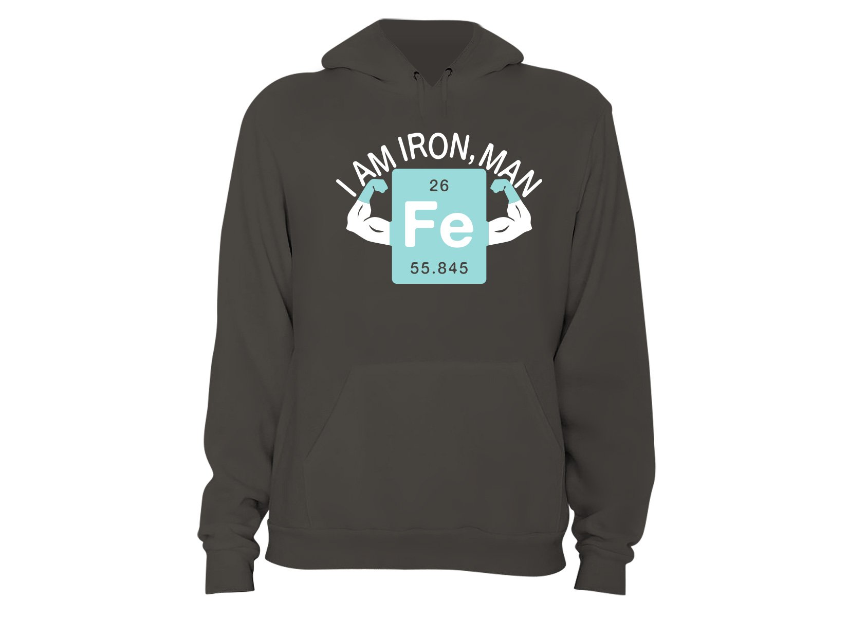 I Am Iron, Man on Hoodie