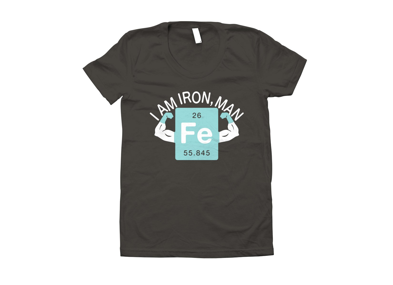 I Am Iron, Man on Juniors T-Shirt