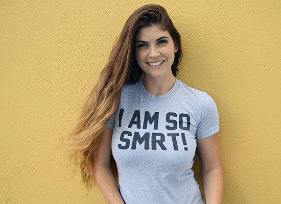 I Am So Smrt on Juniors T-Shirt