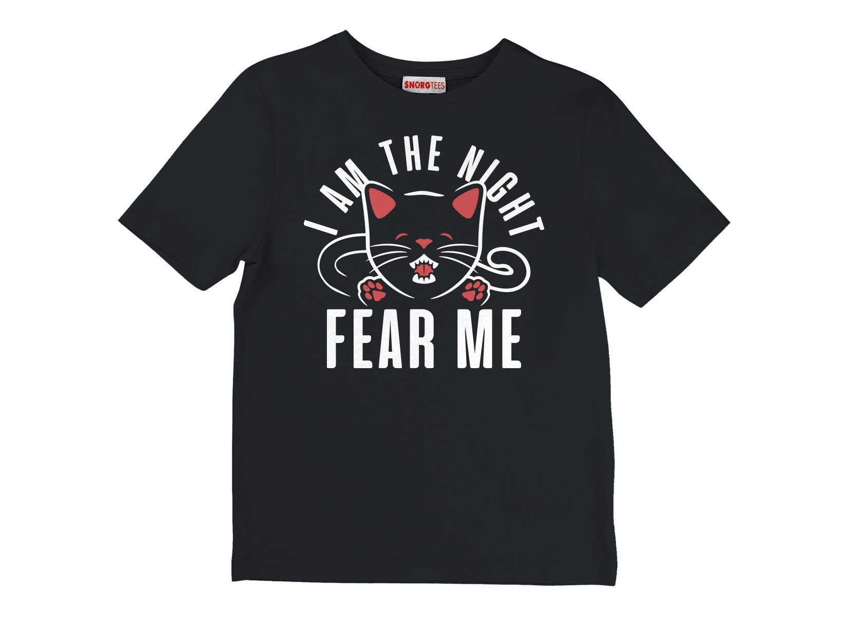 I Am The Night Fear Me on Kids T-Shirt