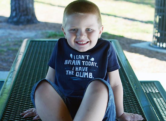 I Can't Brain Today, I Have The Dumb. on Kids T-Shirt