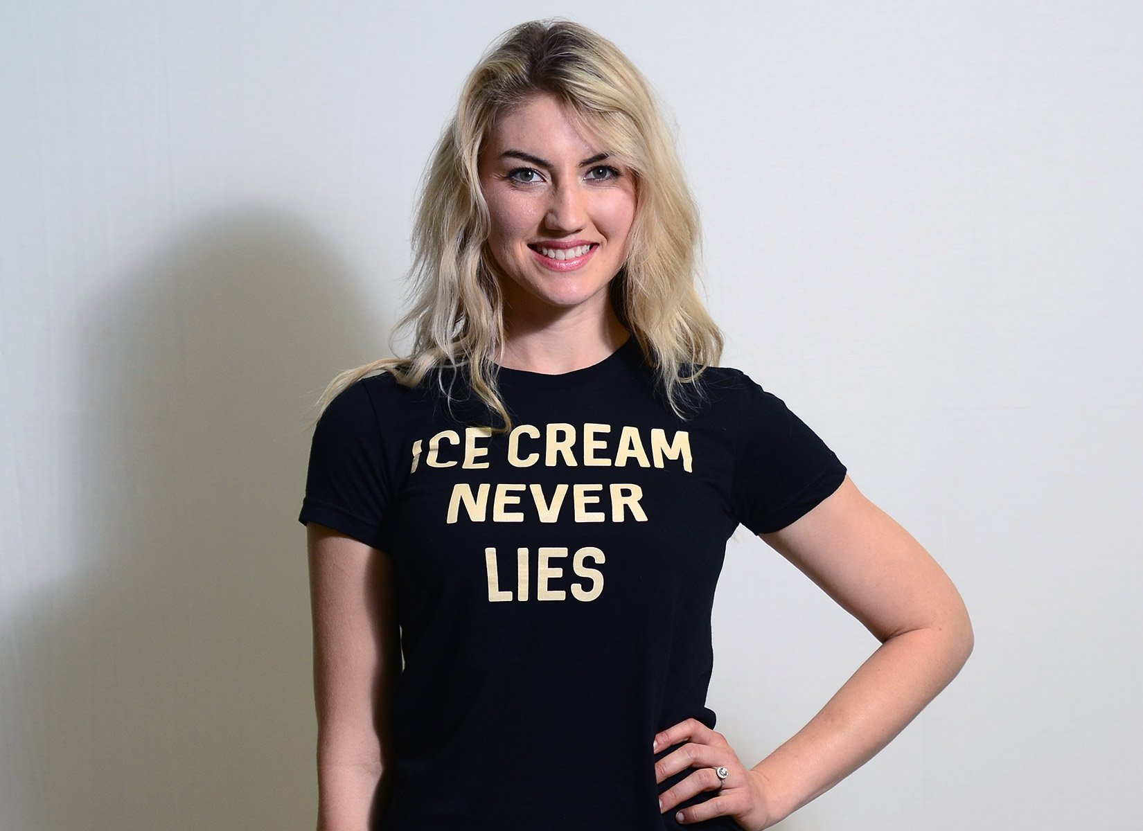 Ice Cream Never Lies on Juniors T-Shirt
