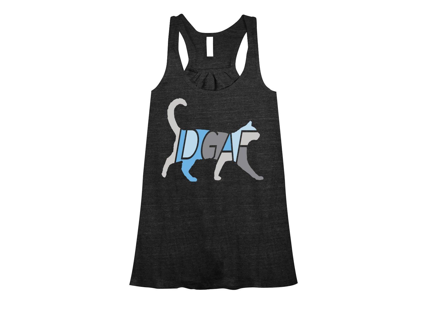 IDGAF on Womens Tanks T-Shirt
