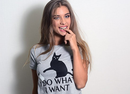 I Do What I Want on Juniors T-Shirt