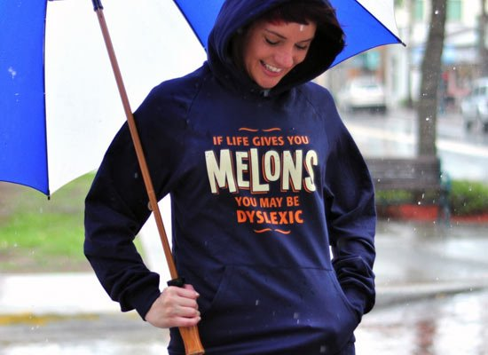 If Life Gives You Melons on Hoodie