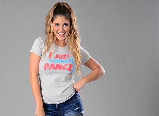 I Just Wanna Dance on Juniors T-Shirt