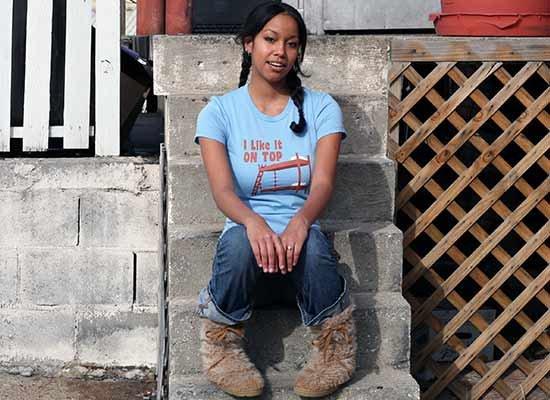 I Like It On Top on Juniors T-Shirt