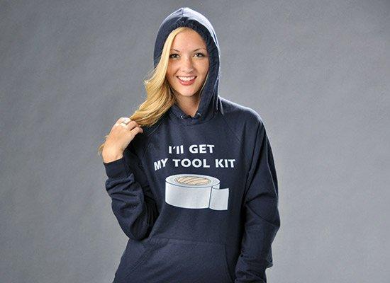 I'll Get My Tool Kit on Hoodie