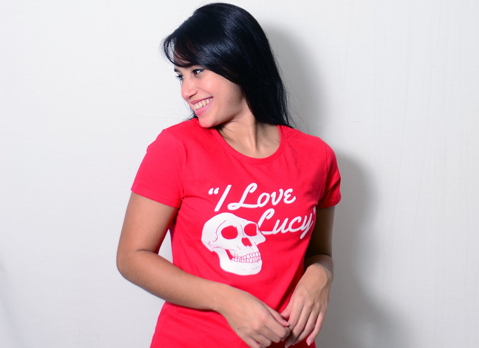 I Love Lucy on Womens T-Shirt