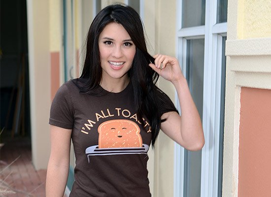 I'm All Toasty on Juniors T-Shirt