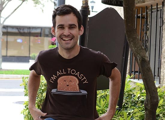 I'm All Toasty on Mens T-Shirt