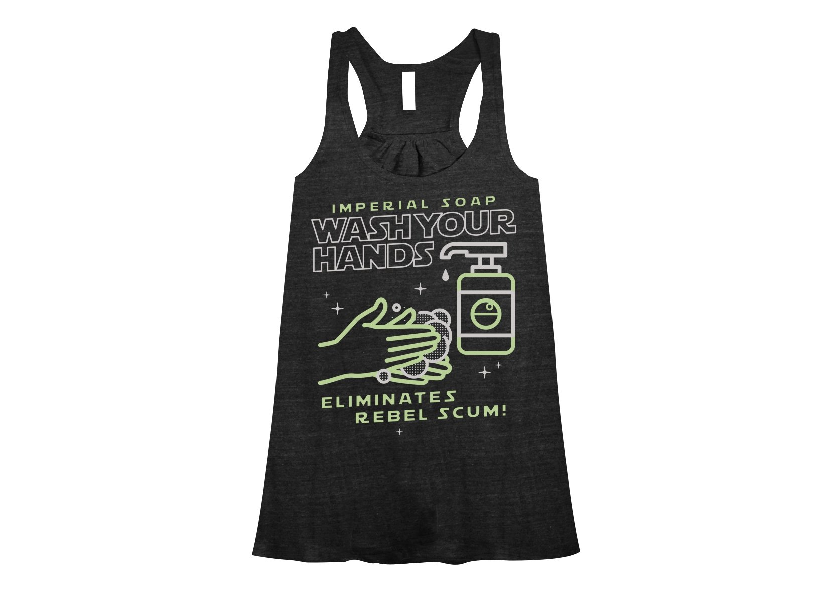Imperial Soap on Womens Tanks T-Shirt