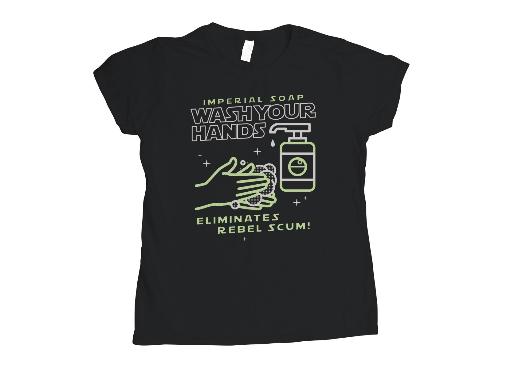 Imperial Soap on Womens T-Shirt