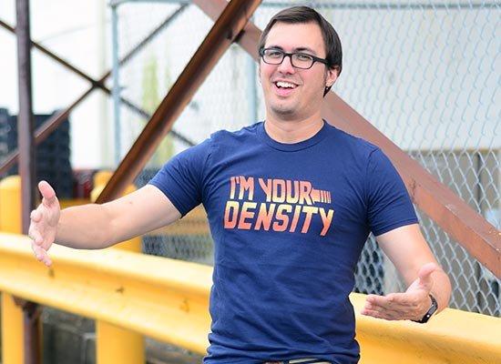 I'm Your Density on Mens T-Shirt
