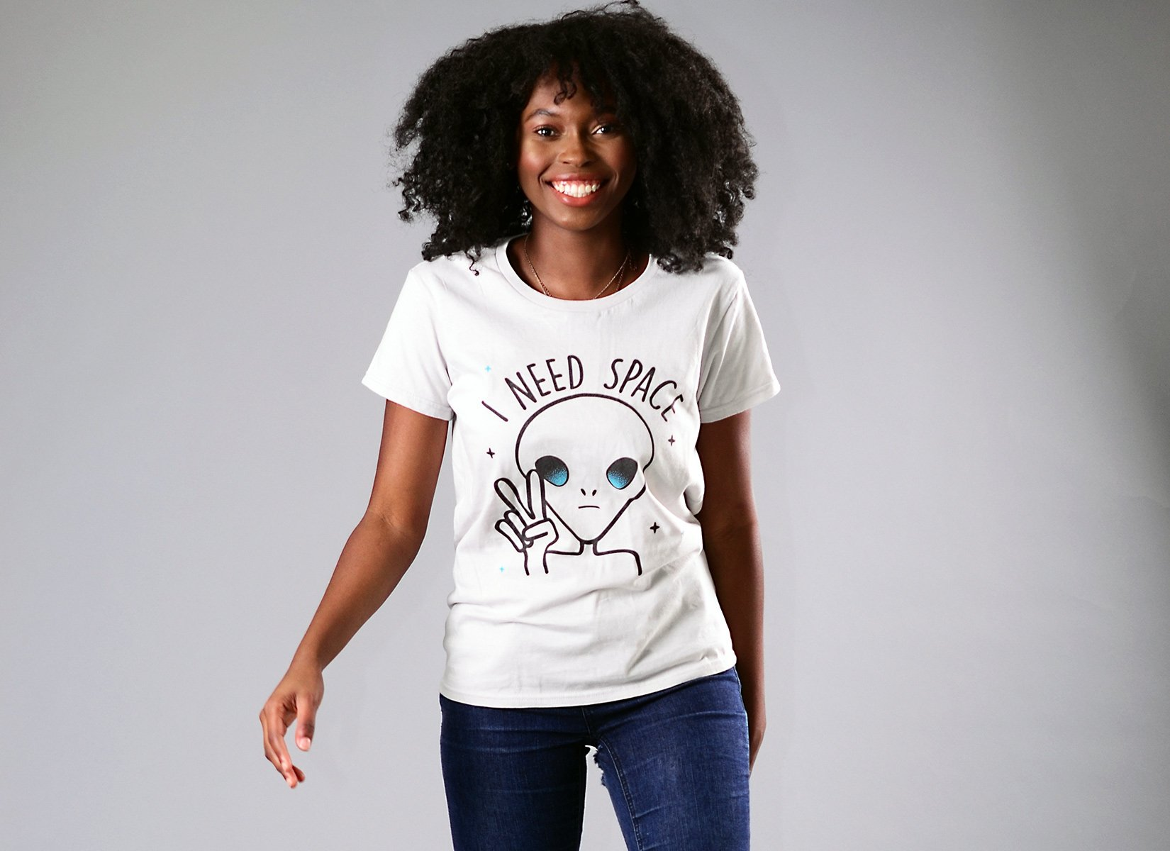 I Need Space on Womens T-Shirt