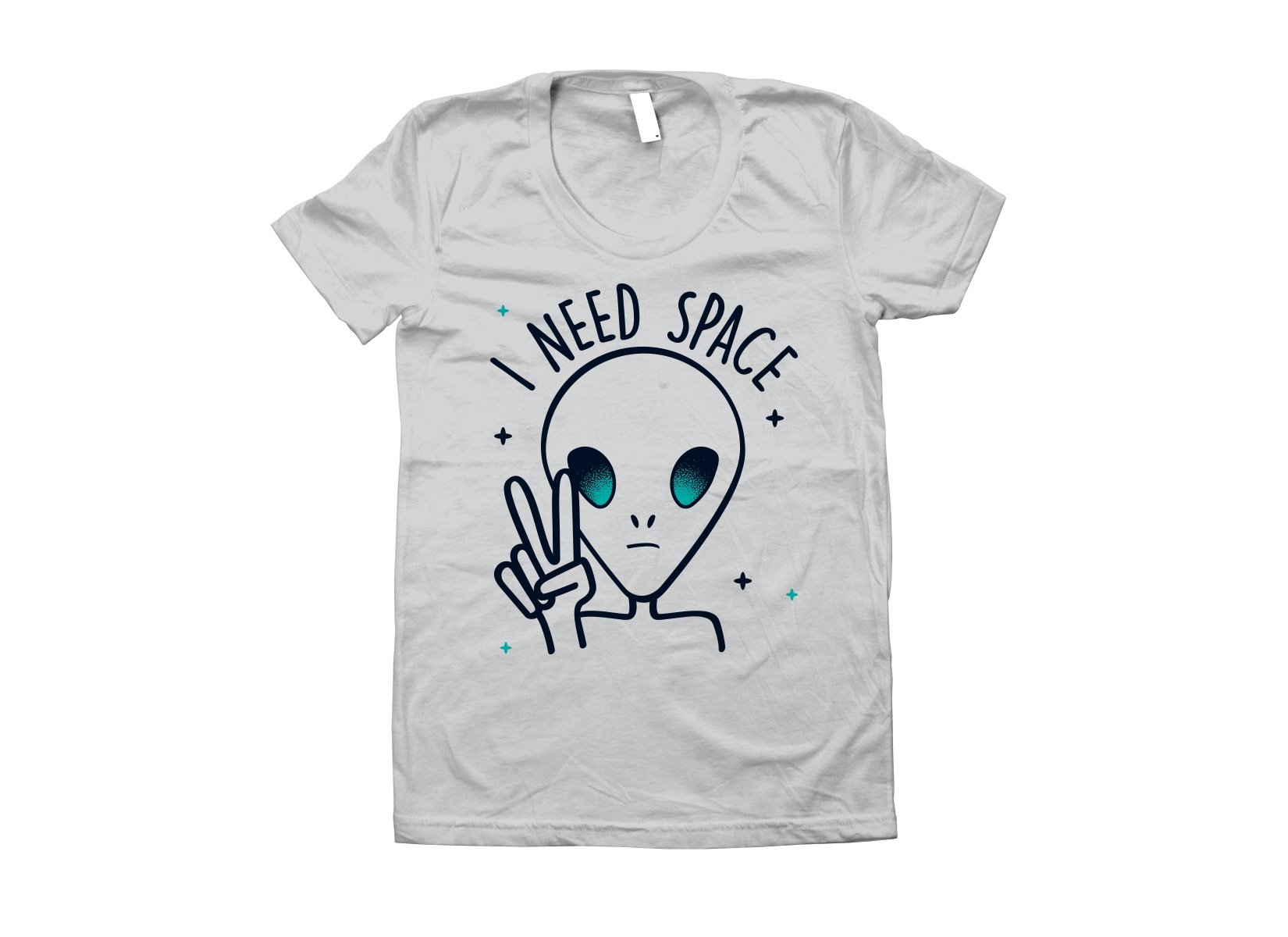 I Need Space on Juniors T-Shirt