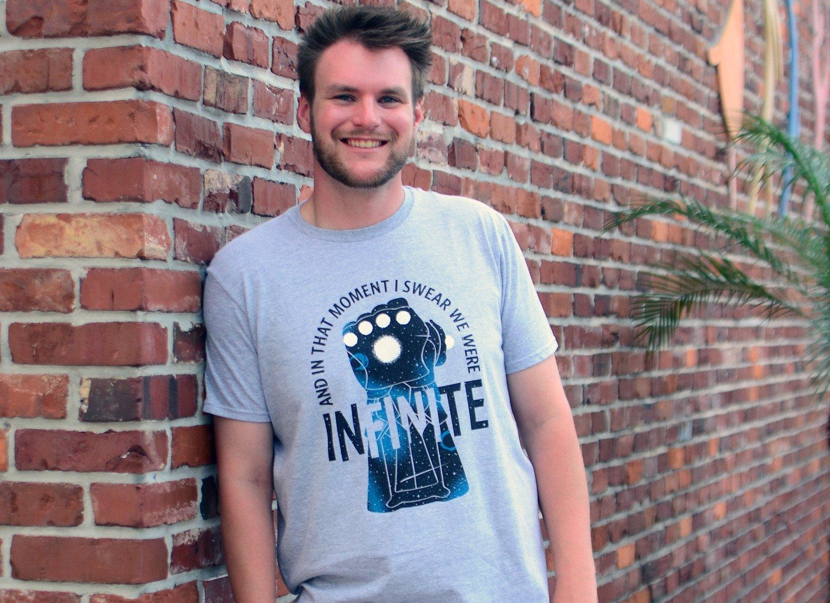 We Were Infinite on Mens T-Shirt