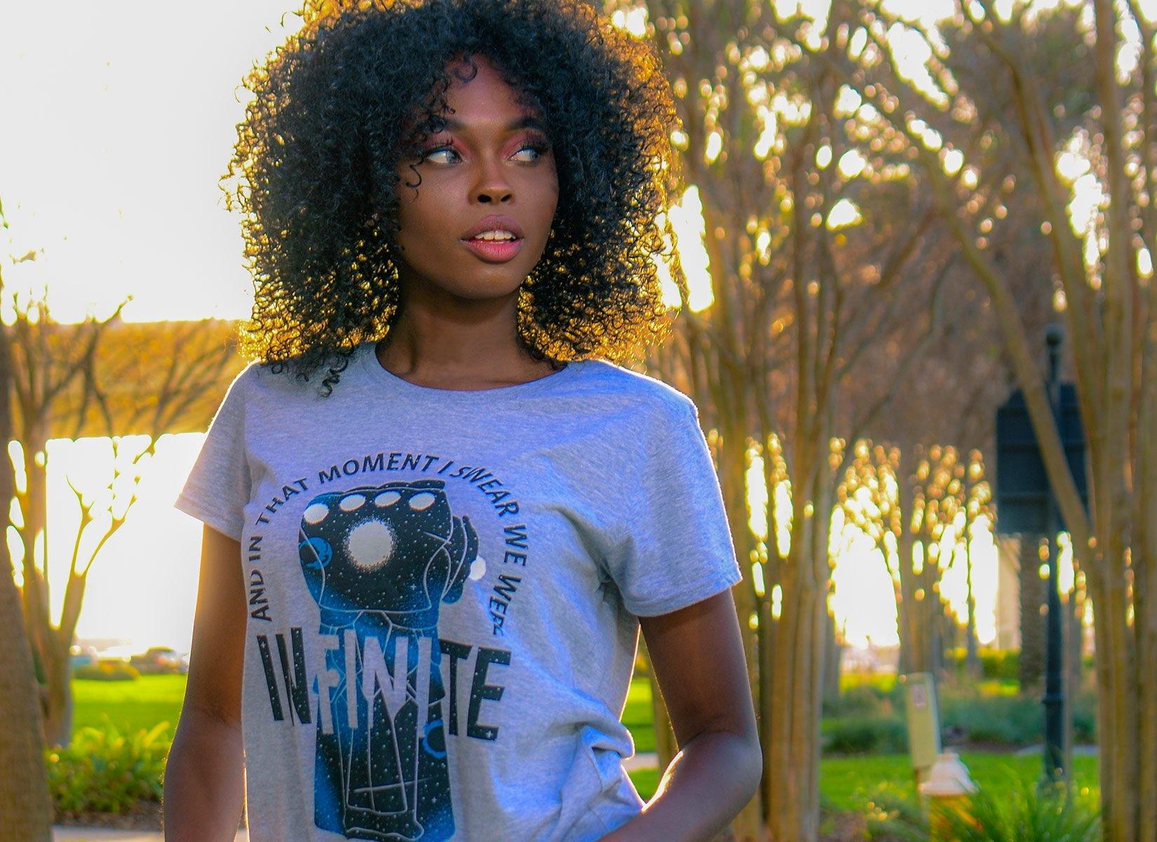 We Were Infinite on Womens T-Shirt