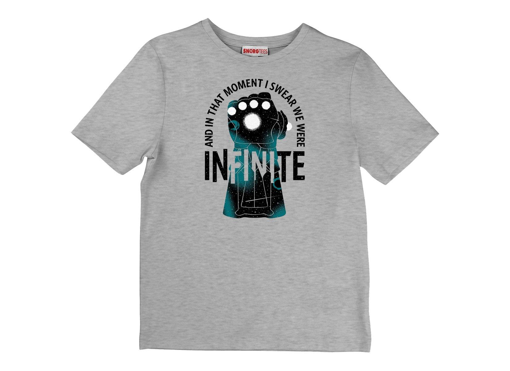 We Were Infinite on Kids T-Shirt