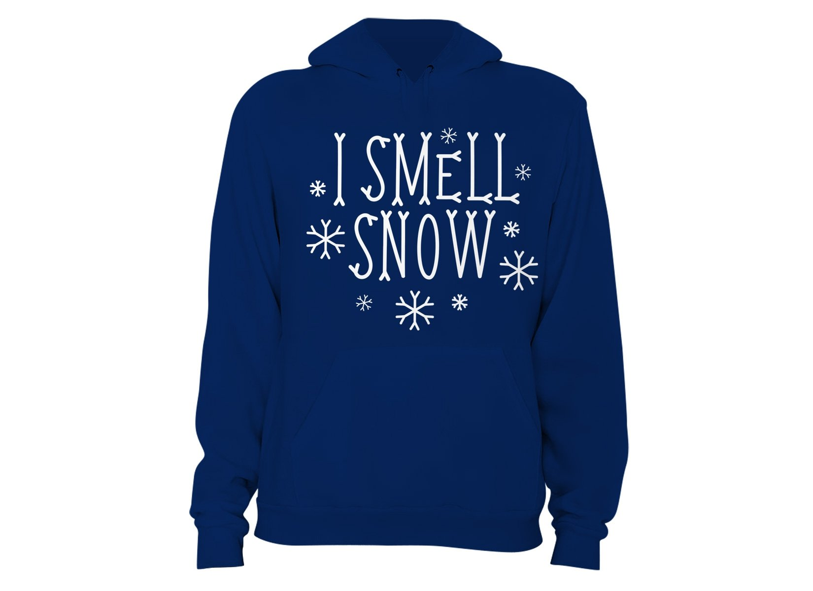I Smell Snow on Hoodie