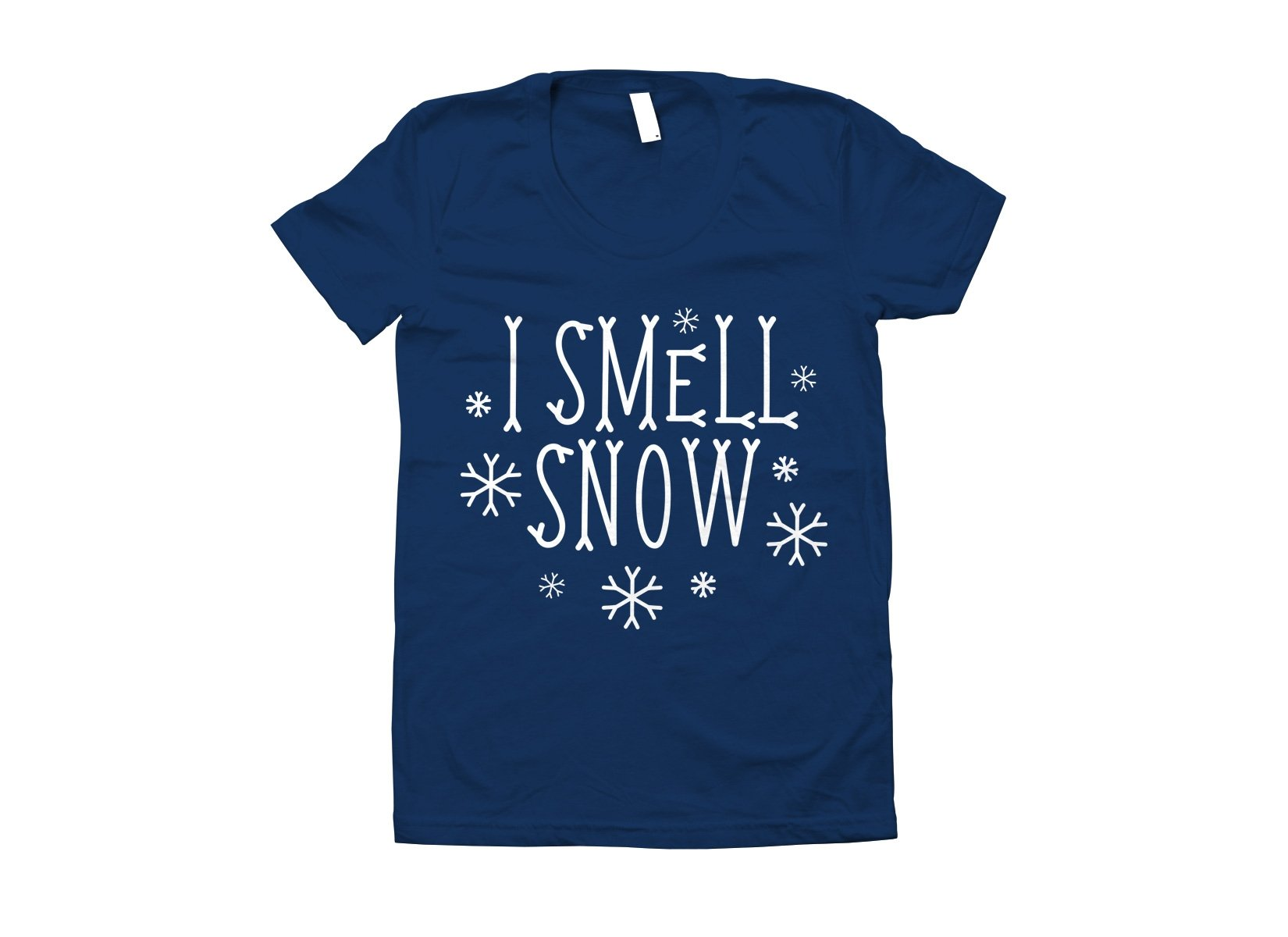 I Smell Snow on Juniors T-Shirt