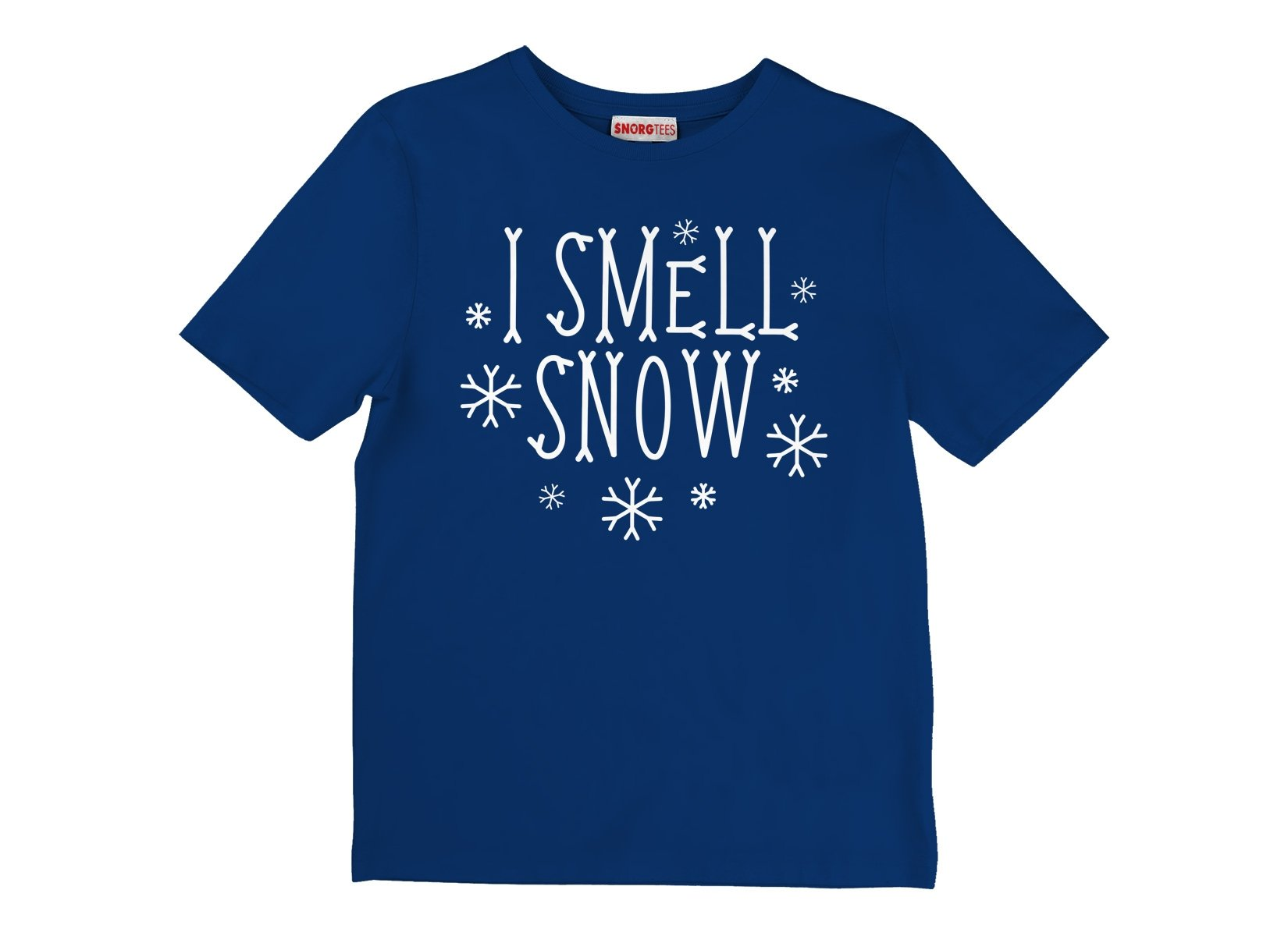 I Smell Snow on Kids T-Shirt