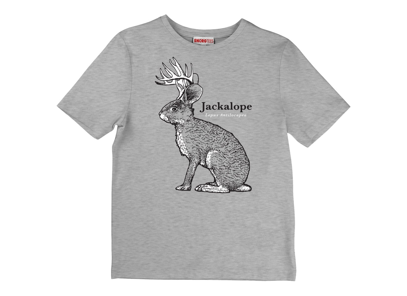Jackalope on Kids T-Shirt