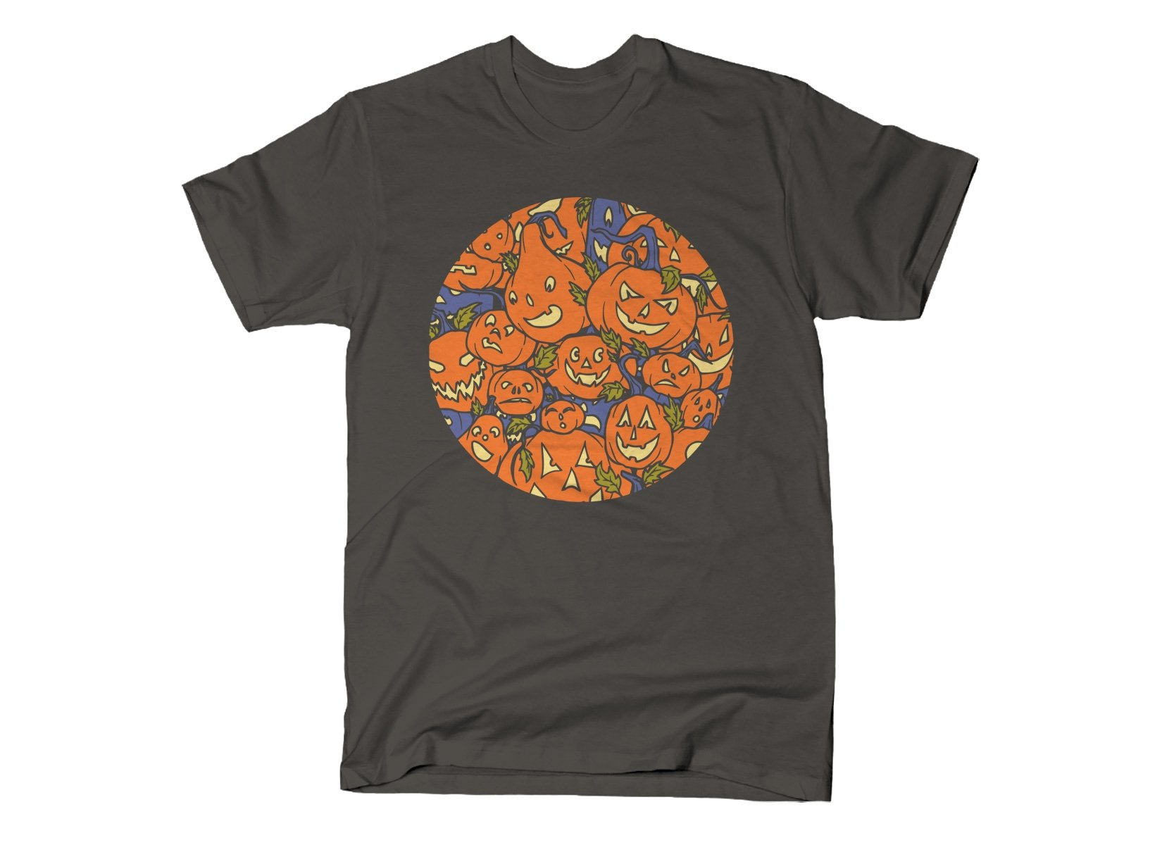 Jack-O-Lanterns on Mens T-Shirt