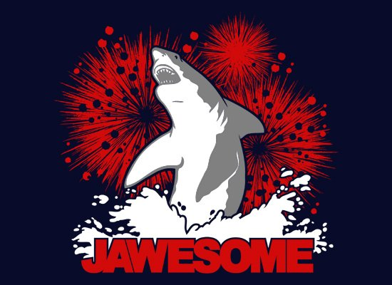 Jawesome! on Mens T-Shirt