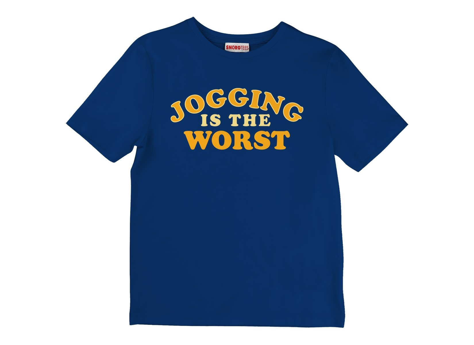 Jogging Is The Worst on Kids T-Shirt