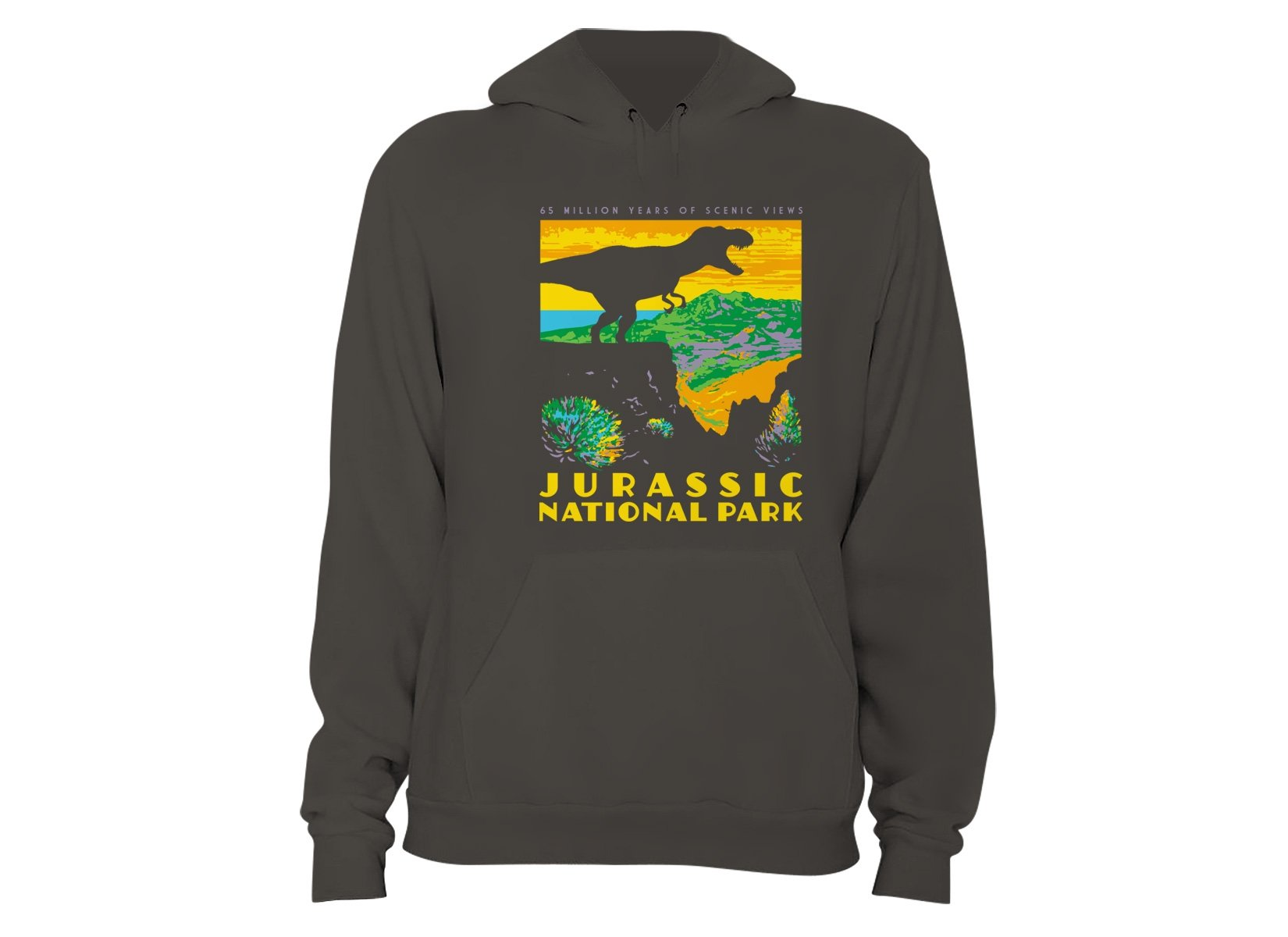 Jurassic National Park on Hoodie