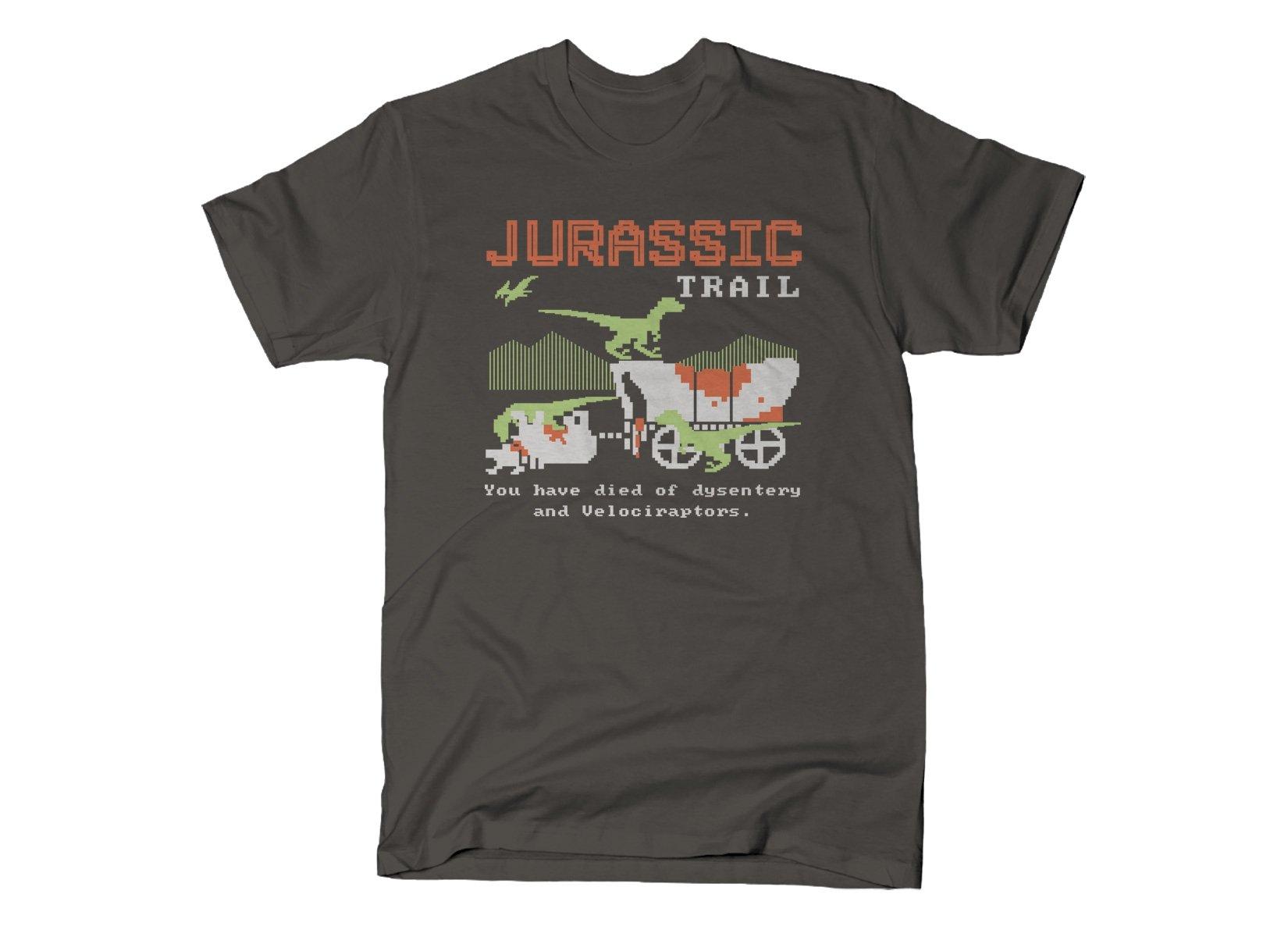 Jurassic Trail on Mens T-Shirt