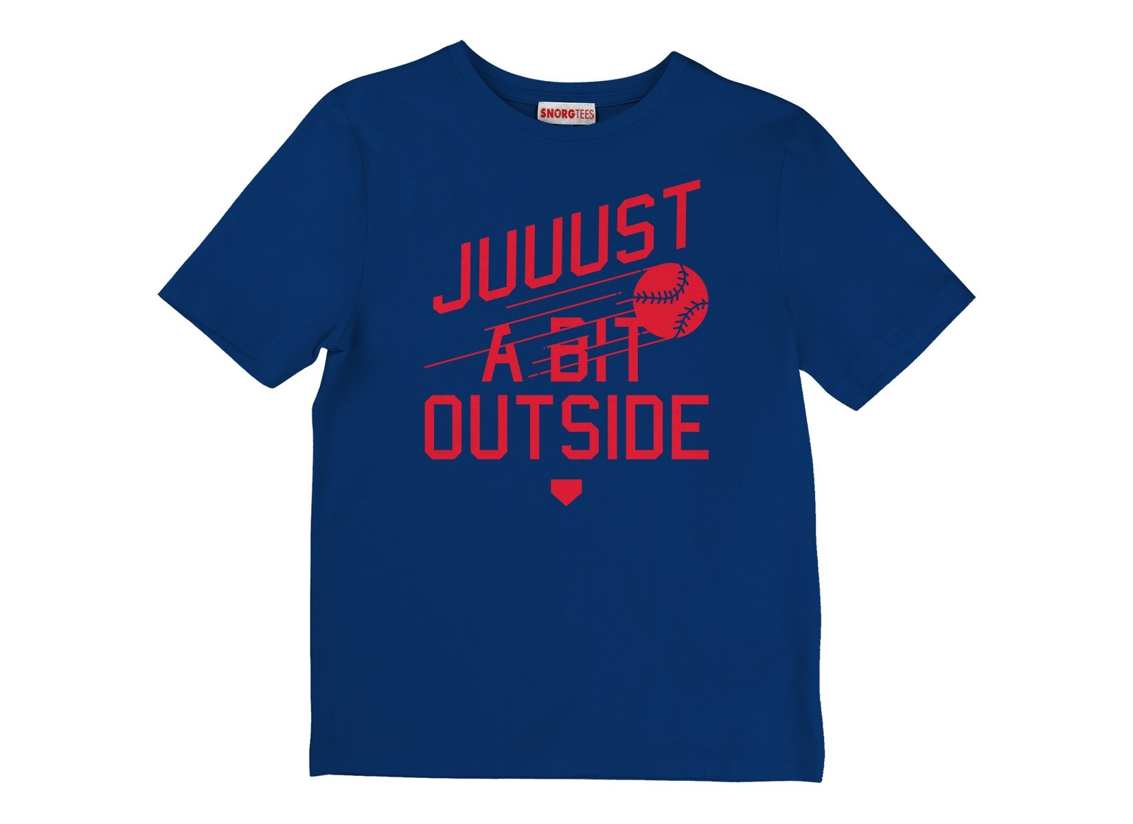 Just A Bit Outside on Kids T-Shirt