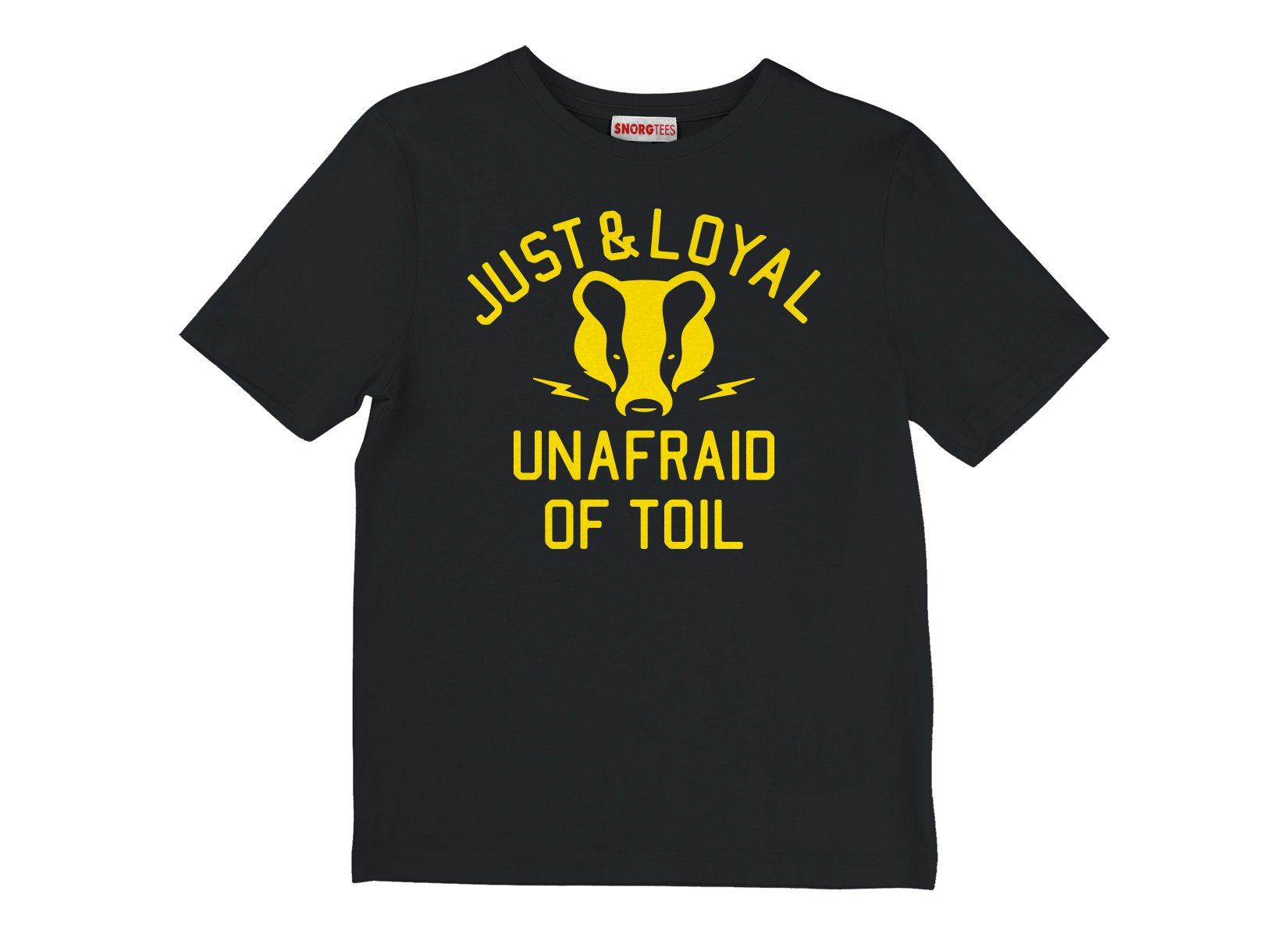 Just And Loyal, Unafraid Of Toil on Kids T-Shirt