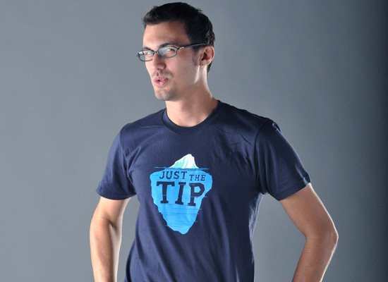 Just The Tip on Mens T-Shirt