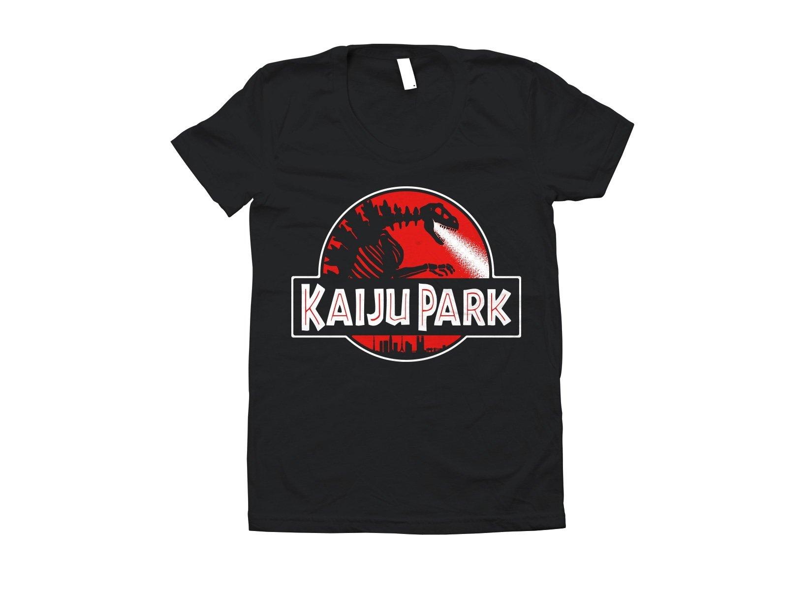 Kaiju Park on Juniors T-Shirt