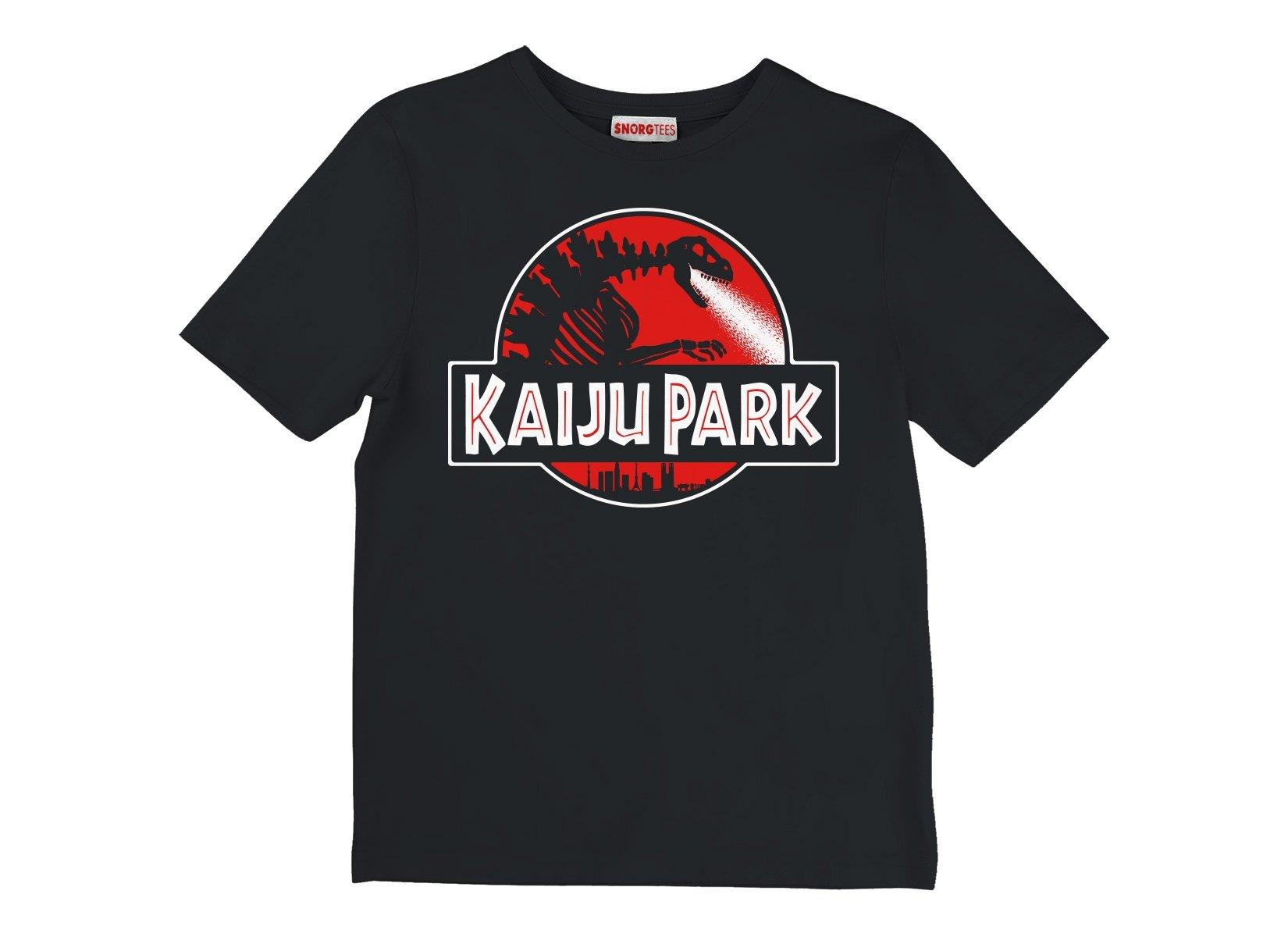 Kaiju Park on Kids T-Shirt
