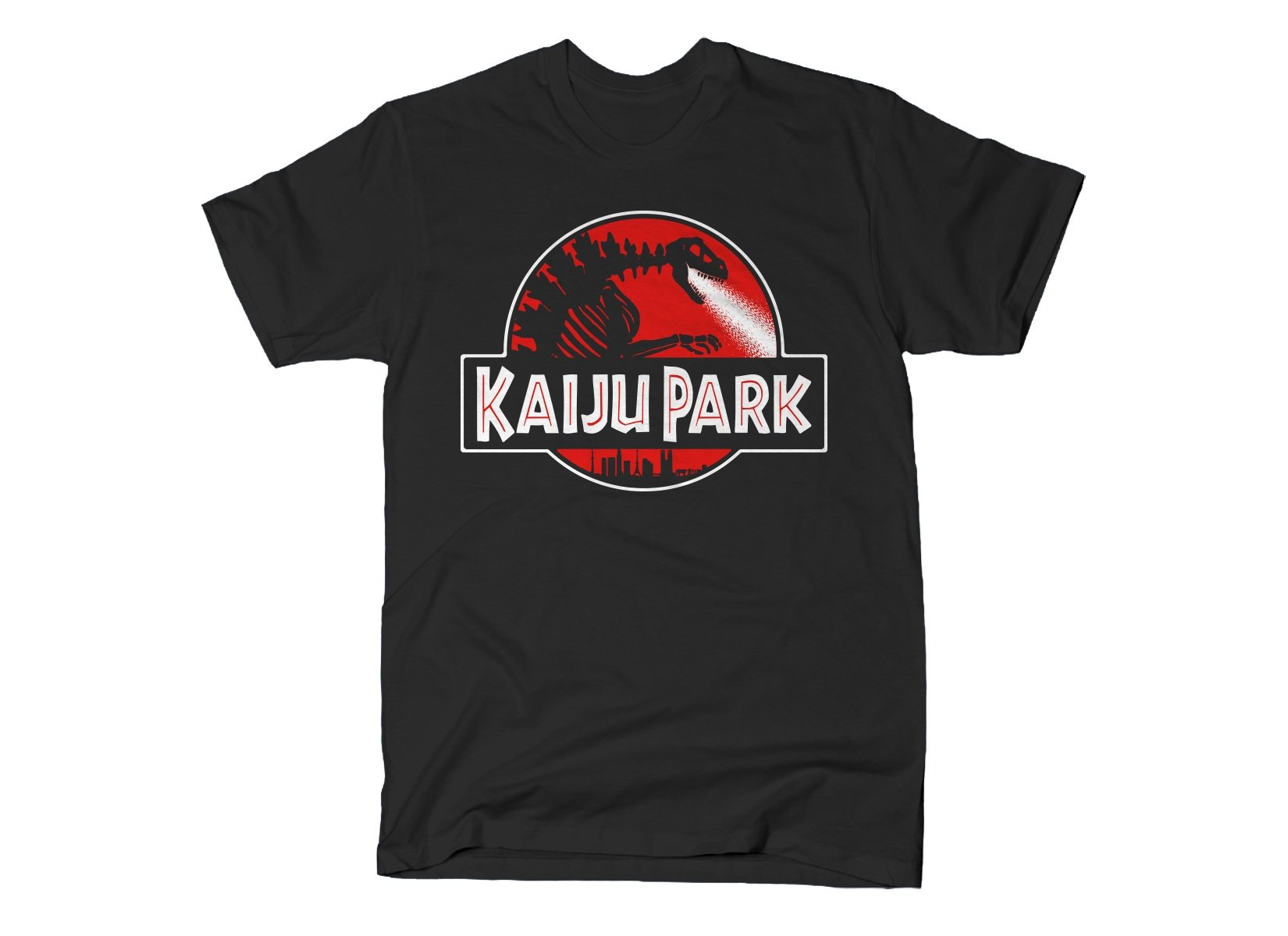 Kaiju Park on Mens T-Shirt