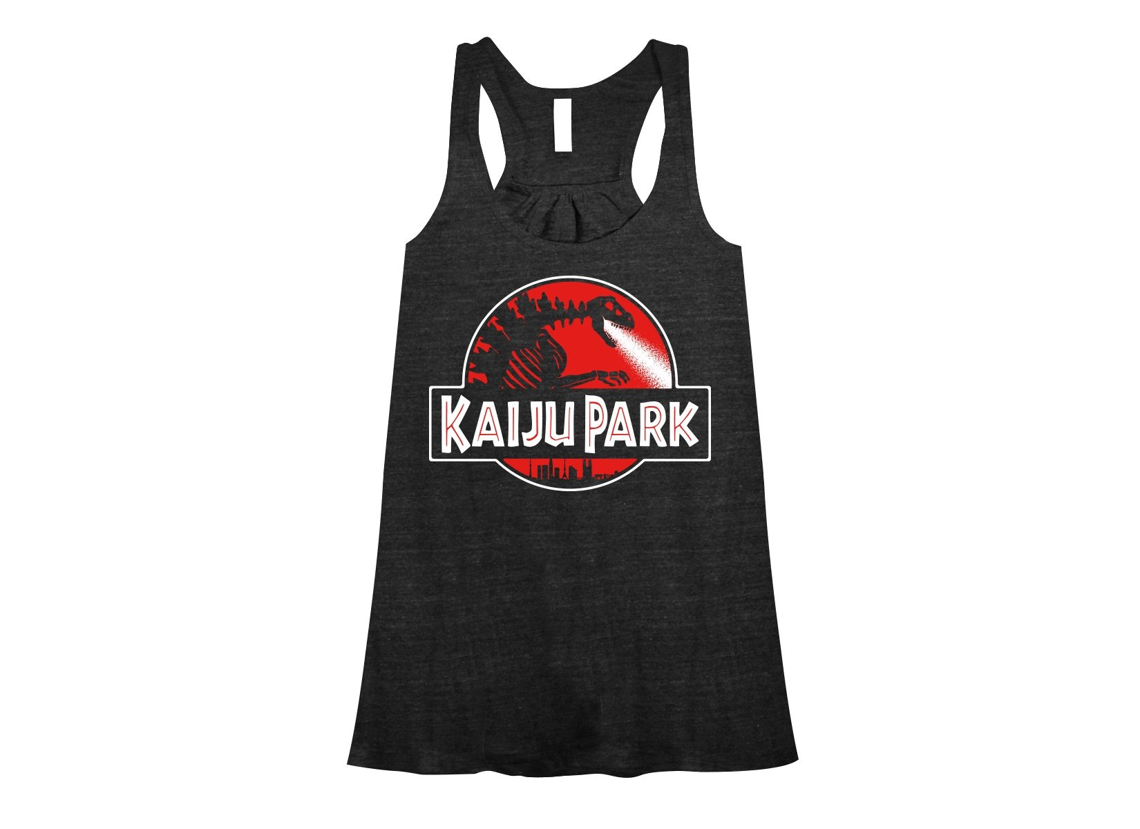 Kaiju Park on Womens Tanks T-Shirt