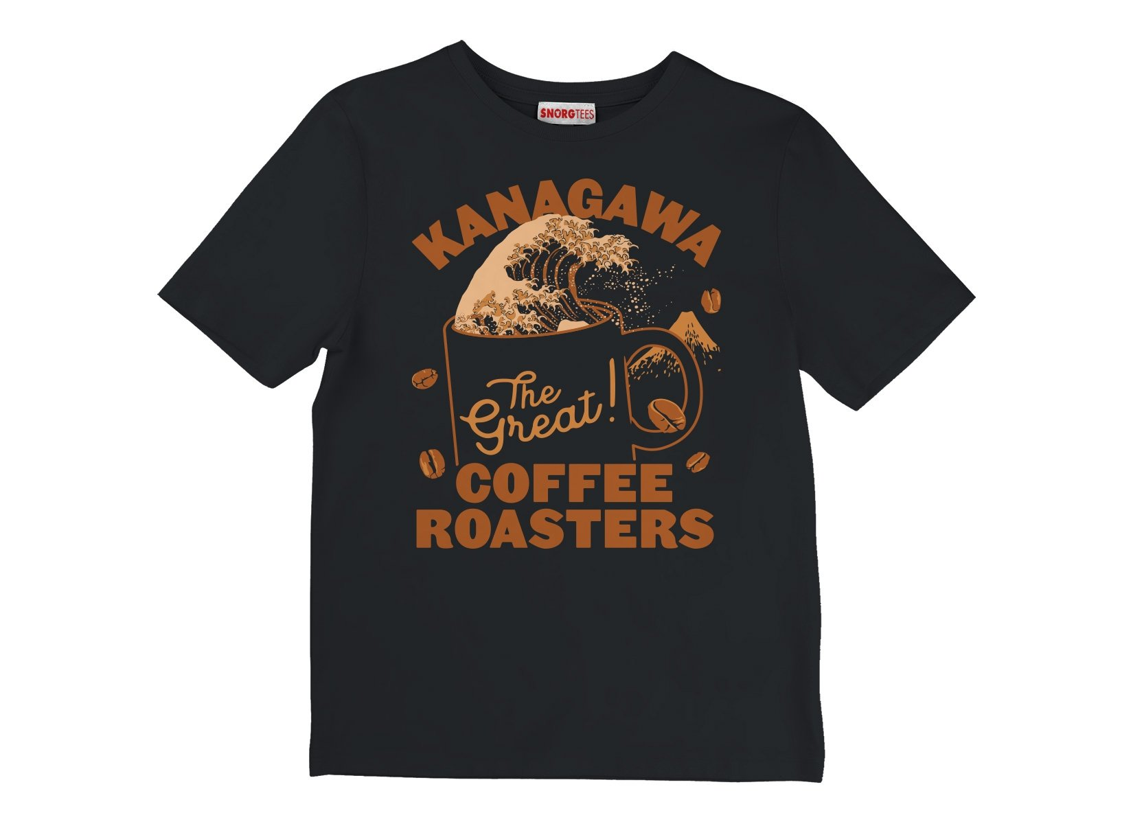 Kanagawa Coffee Roasters on Kids T-Shirt