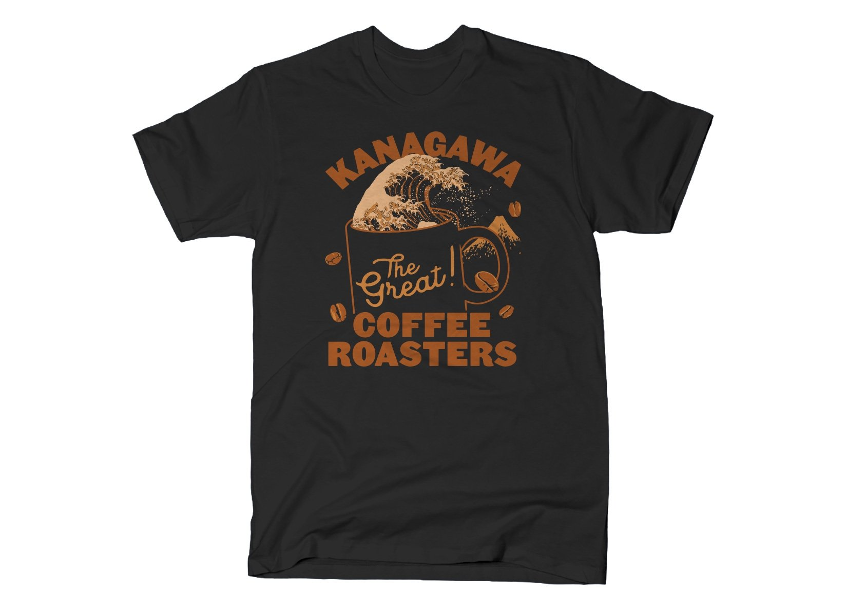 Kanagawa Coffee Roasters on Mens T-Shirt