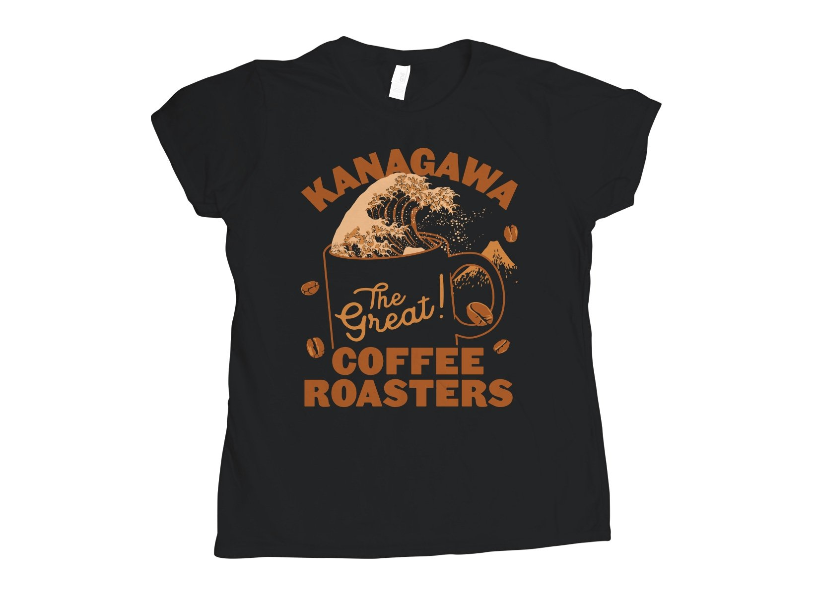 Kanagawa Coffee Roasters on Womens T-Shirt