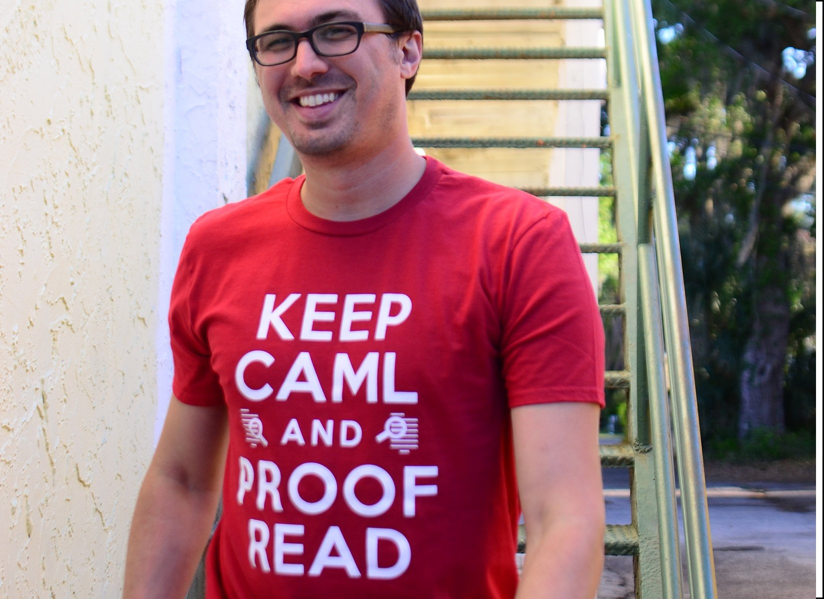 Keep Caml on Mens T-Shirt