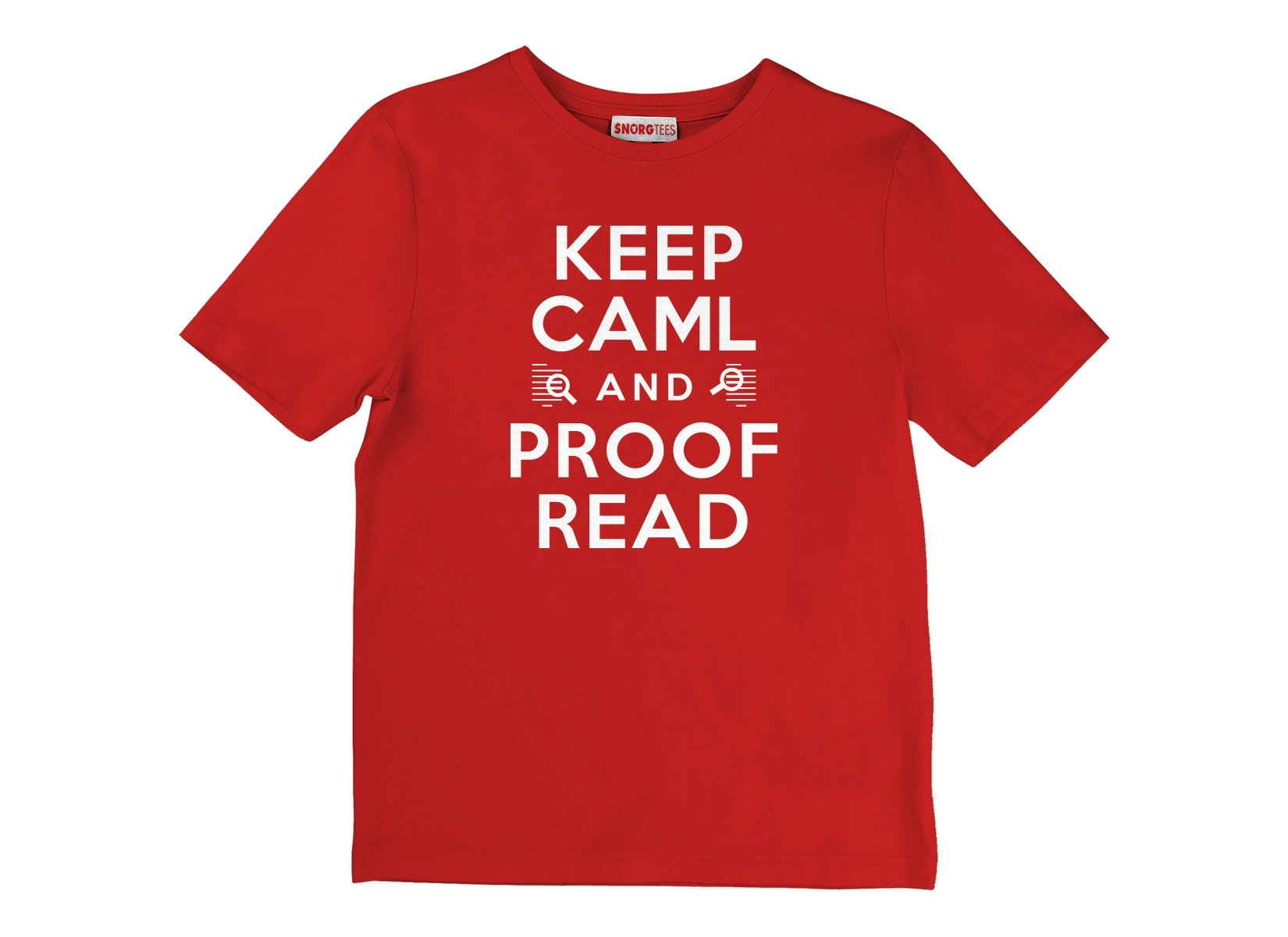 Keep Caml on Kids T-Shirt