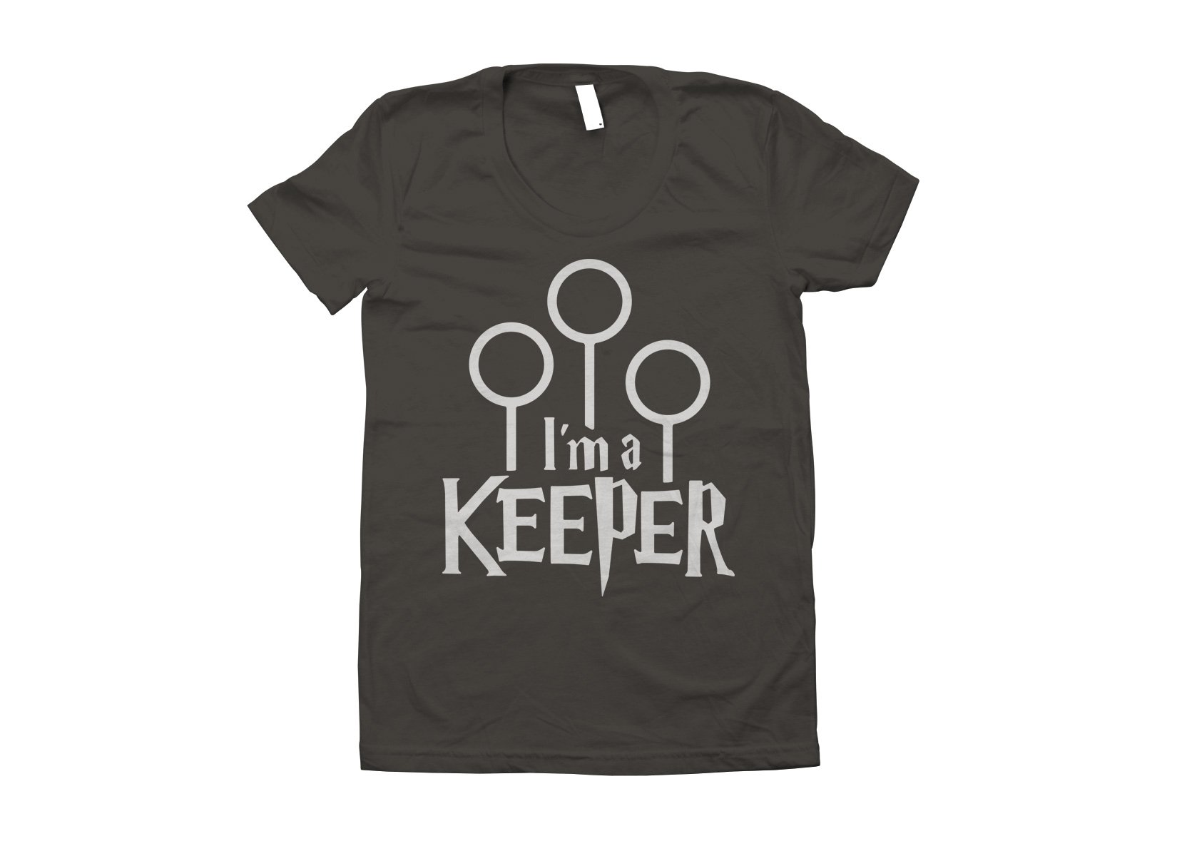 I'm A Keeper on Juniors T-Shirt