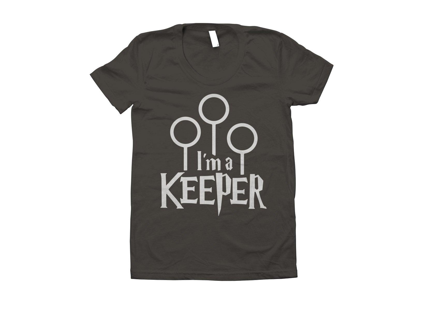 I'm A Keeper on Juniors T-Shirt