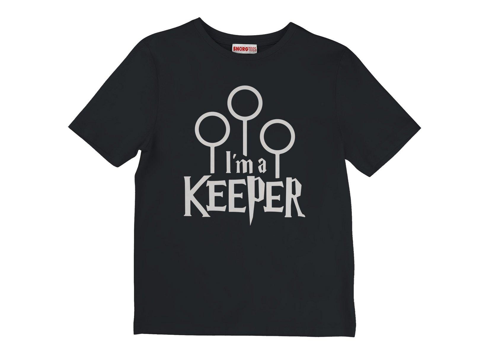 I'm A Keeper on Kids T-Shirt