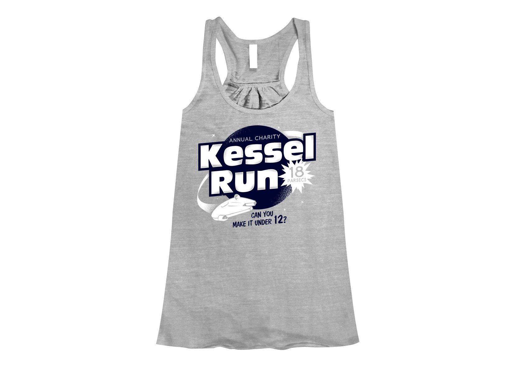 Kessel Run on Womens Tanks T-Shirt